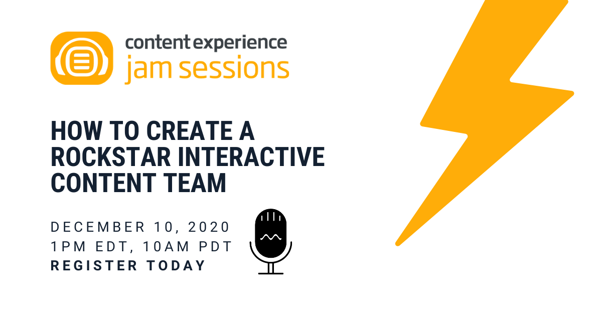 How to Create a Rockstar Interactive Content Team