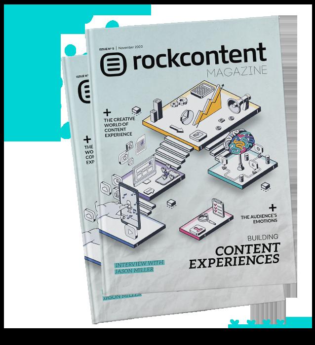 Rock Content Magazine Mockup